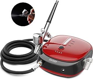 Oasser kit compresseur aérographe portable Double Action Pistolet Aerographe haute précision Mini compresseur pression rég...