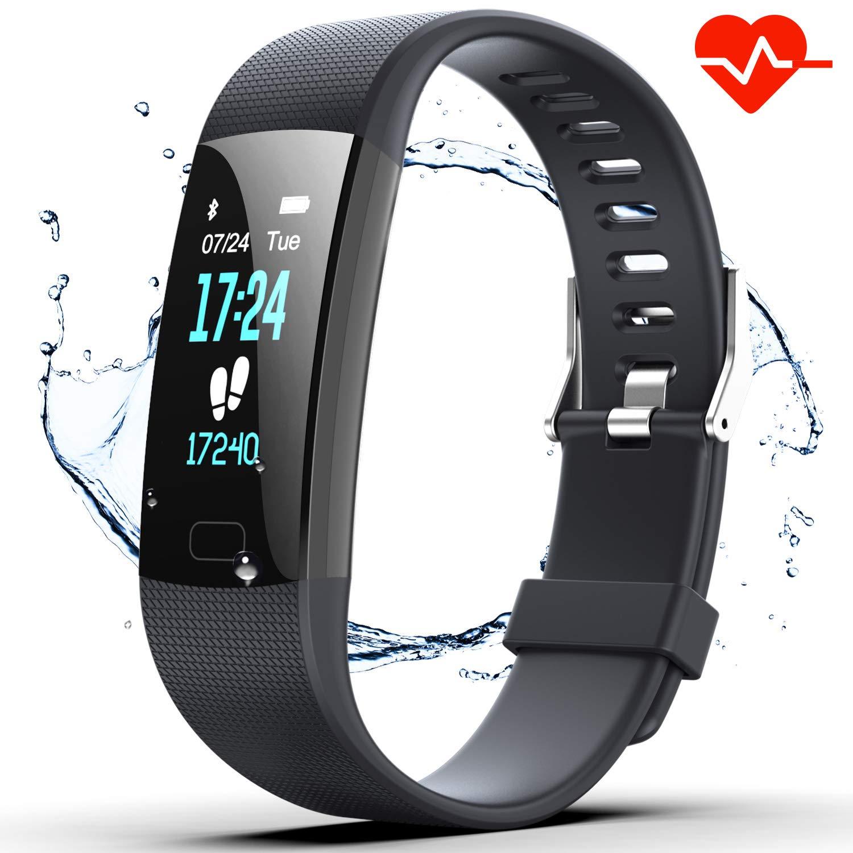 Fitness Activity Pedometer Waterproof Midnight