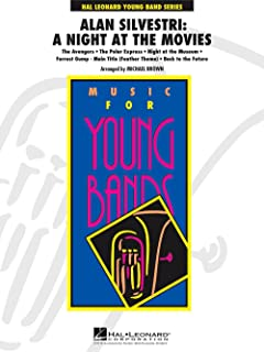 Hal Leonard Alan Silvestri: A Night At The Movies - Young Concert Band Level 3