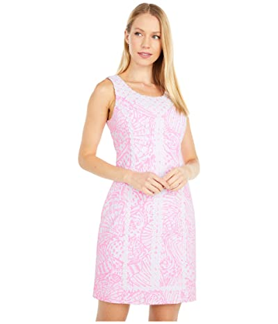 Lilly Pulitzer Macfarlane Stretch Shift (Pelican Pink Sea Cups) Women