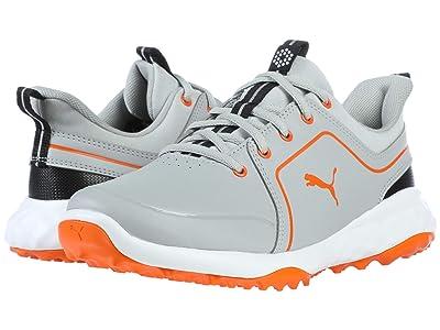 PUMA Golf Grip Fusion 2.0 (Big Kid) (High-Rise/Vibrant Orange) Shoes