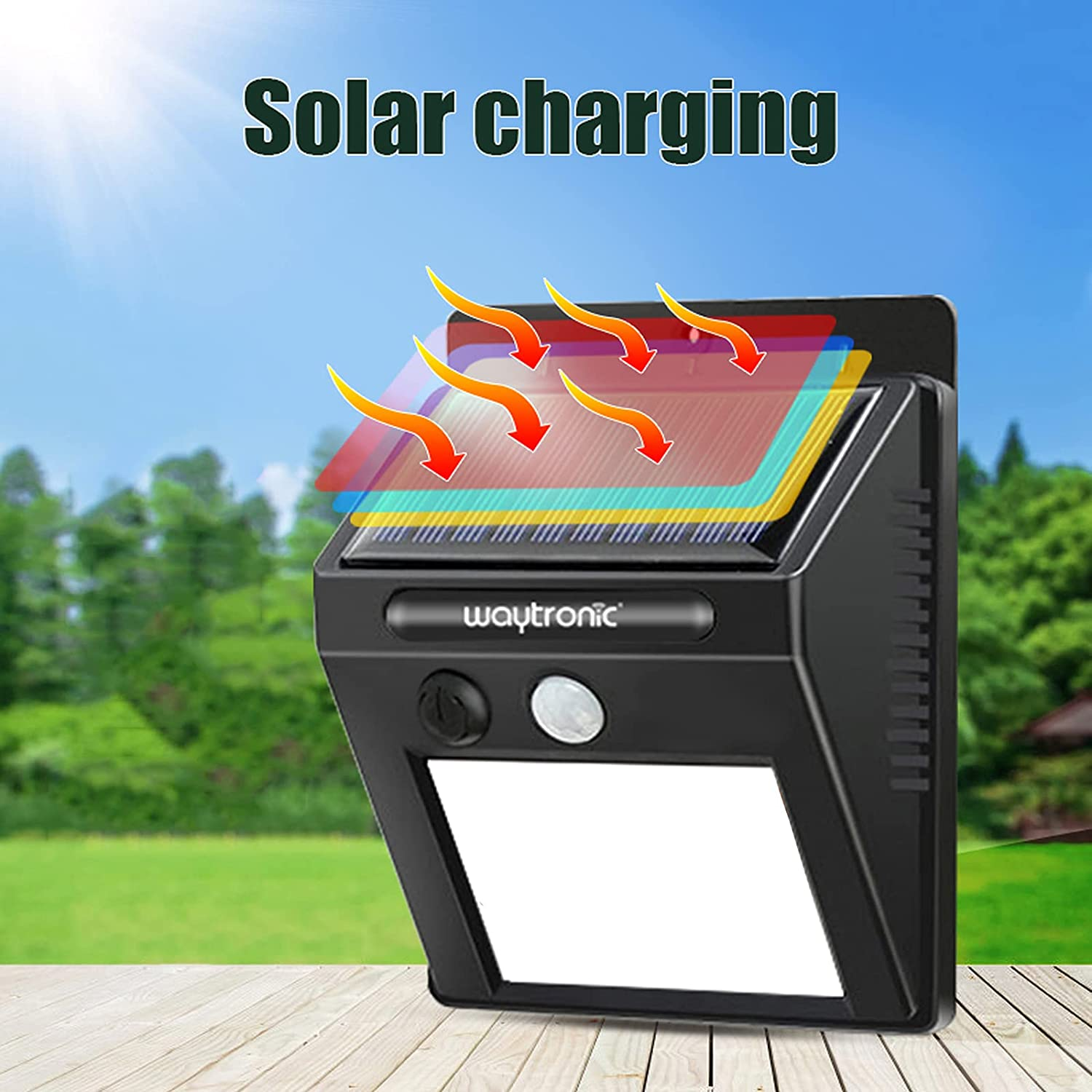 Outdoor LED Light Solar Cheap mail order specialty store Waterproof Ranking TOP11 Detector Motion Sensor Alarm