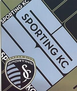 MLS Sporting Kansas City Scramble Plush Raschel Throw, 50