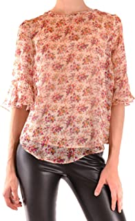 TWIN-SET Luxury Fashion Womens MCBI38639 Pink Blouse | Season Outlet