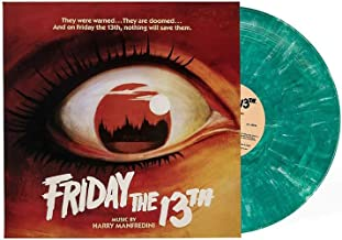 Friday The 13th Part 1 (Original Motion Picture Score) - Exclusive Limited Edition Crystal Lake Blue Vinyl LP
