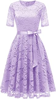 Best knee length lavender dress Reviews