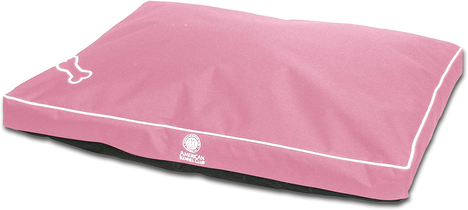 American Kennel Club AKC8890PNK Chew & Water Resistant Pet Gusset, 35 x 44