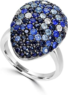 EFFY 925 STERLING SILVER SAPPHIRE RING