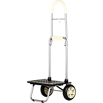 dbest products Bigger Mighty Max Personal Dolly, Cream Handtruck Cart Hardware Garden Utilty