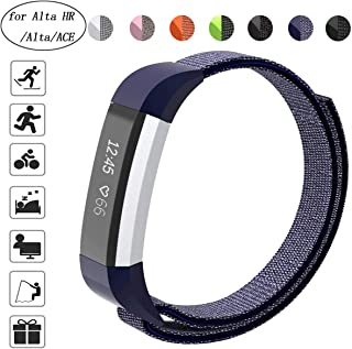 Aspark Replacement Strap Compatible for Fitbit ACE, Nylon Adjustable Wristbands Accessory Sport Bands for Fitbit Ace/Alta HR/Alta Fitness Tracker, Perfect for Wrist (5.5
