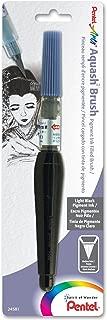 Pentel Arts Aquash Pigment Ink Brush, Light Black Ink, Pack of 1 (FRHMNBPA)