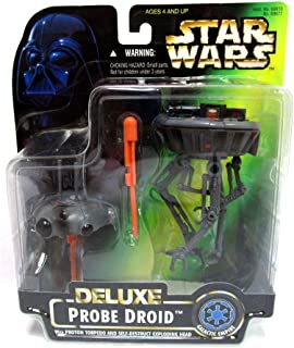 Star Wars Deluxe Probe Droid With Proton Torpedo & Self-Destruct Exploding Head