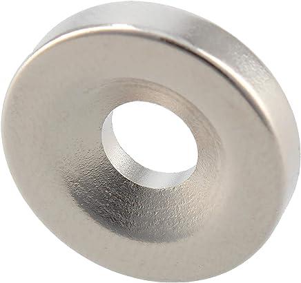 Ferrestock FSKNDC006 10 个装圆形 18x4mm 钕磁铁 带 6mm 孔