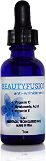 UNT Beautyfusion, Vitamin C Serum, Anti Aging Serum with Hyaluronic Acid, Anti Wrinkle Serum for Face & Neck, Moisturizes,...