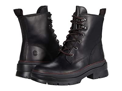 Timberland Malynn EK+ Waterproof Mid Lace Boot (Black Full Grain) Women