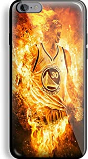 Stephen Curry Fire for iPhone and Samsung Galaxy Case (iPhone 6/6s black)