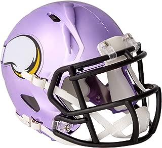 vikings chrome mini helmet