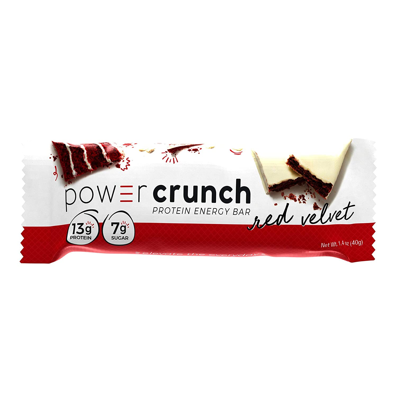 Challenge the lowest price of Japan ☆ Power Crunch Max 86% OFF High Protein Energy Snack 1.4-Ounce 2 Bars