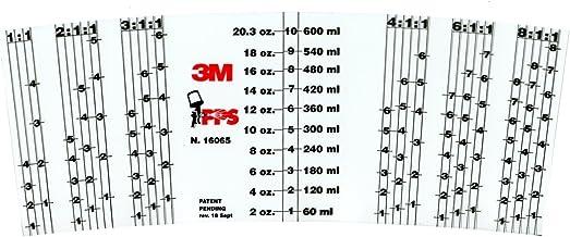 3m 16065 3M PPS Mix Ratio Insert - Generic, 16065