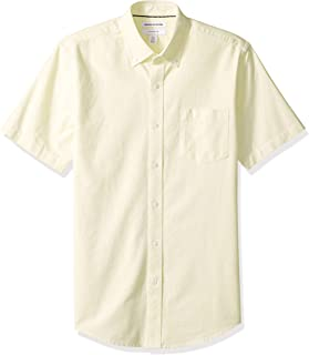 Men's Slim-Fit Short-Sleeve Pocket Oxford Shirt
