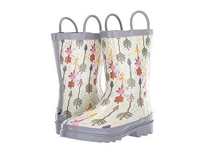 M&F Western Kids Stacie (Toddler/Little Kid/Big Kid) (Ivory) Cowboy Boots