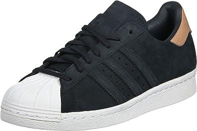 adidas Superstar 80's Femme Baskets Mode Noir : Amazon.fr ...