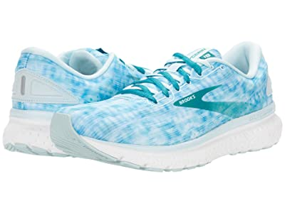 Brooks Glycerin 18 (Light Blue/Teal Green/White) Women