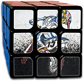 3x3 Rubik Cube Motocross Motorcycle Racing Smooth Magic Cube Sequential Puzzle