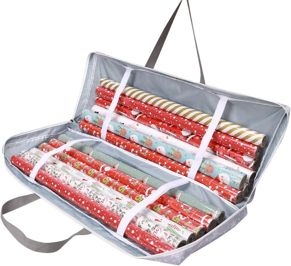 Wrapping Max 56% OFF Paper Storage Container Underbed Organizer Wrap Gift Ch OFFicial mail order