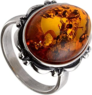 Best large amber rings Reviews