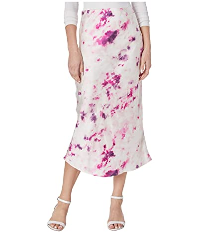 Bardot Kendal Bias Skirt (Purple Tie-Dye) Women