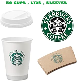 Best starbucks paper coffee cups for sale Reviews