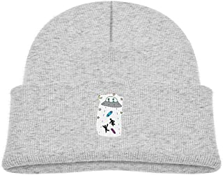 Aliens Kidnapped Skater Baby Boy Beanie Caps Knit Hat Gray