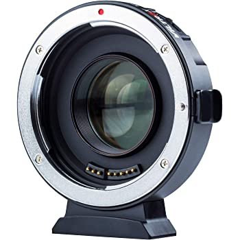 VILTROX EF-M2 II Electronic AF Auto Focus 0.71x Reducer Speed Booster Lens Mount Adapter for Canon EF Mount Lens to M4/3 camera GH5 GH4 GF9 GX85 E-M5 E-M10 E-M10II E-PL3 PEN-F