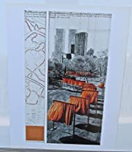 Christo Jean-Christo Poster The Gates Central Park Poster 4 14x11 Offset Lithograph
