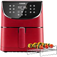 Cosori 5.8-QT. 1700W Electric Hot Air Fryers Oven Oilless Cooker (Red)