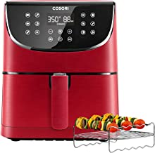 COSORI Air Fryer(100 Recipes, Rack & 4 Skewers),3.7QT Electric Hot Air Fryers Oven..