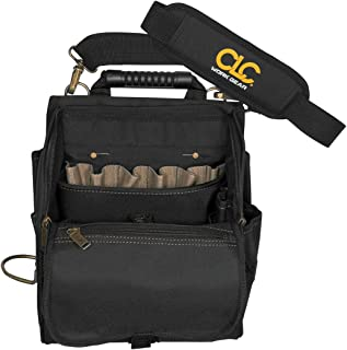 CLC Custom Leathercraft 1509 Zippered Professional Electricians Tool Pouch, 21 Pocket