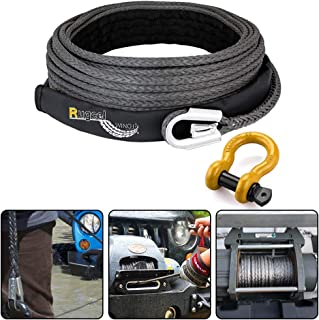 Best 3 8 winch rope Reviews