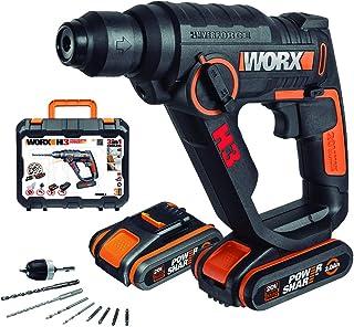 Worx Wx390.1 H3 - Martillo Taladro Atornillador, 20 V, 2.0