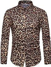 Wofupowga Men Dress Shirts Casual Long Sleeve Jza452 Button Up Tops
