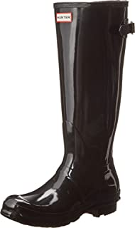 matte or glossy hunter boots