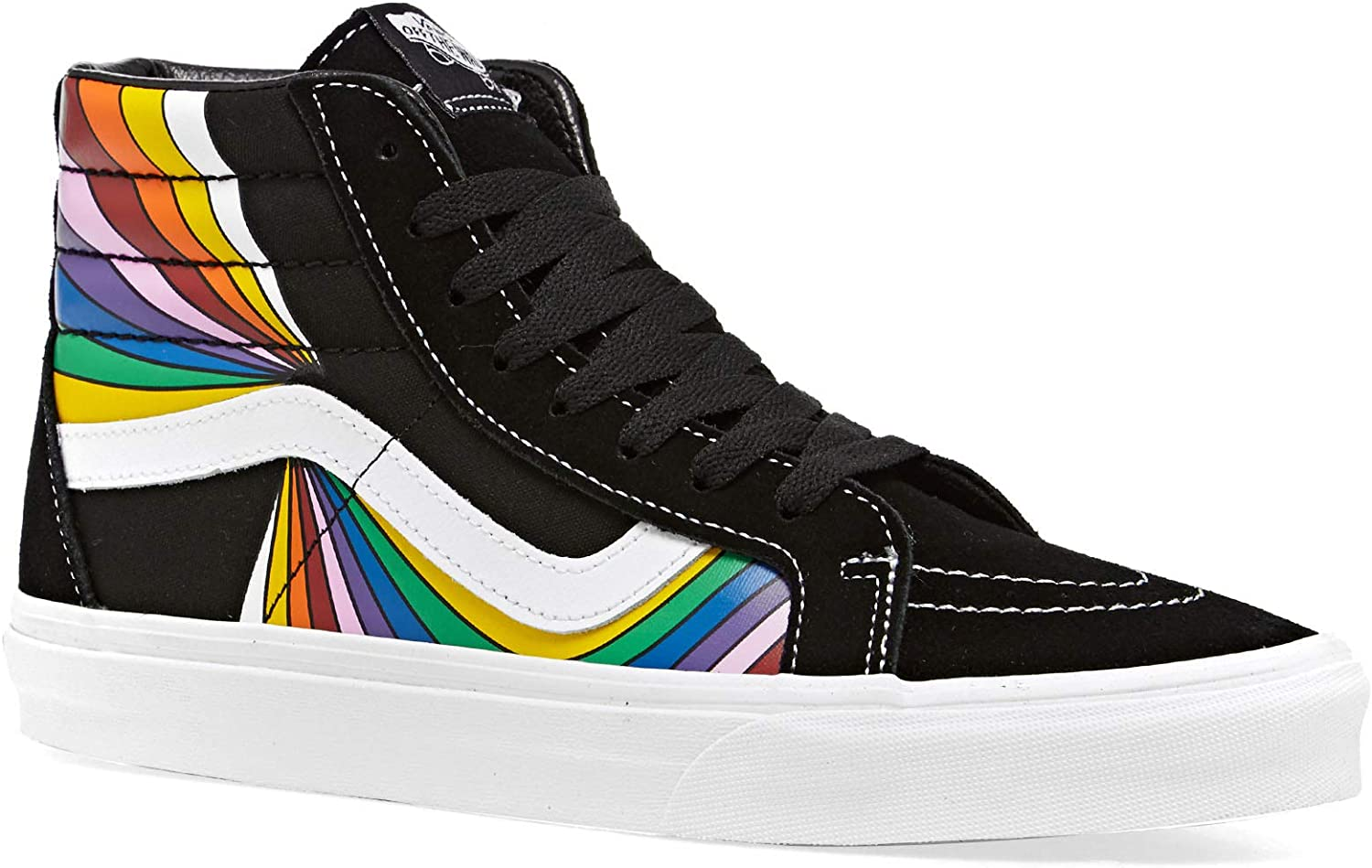 Vans Men's High-Top Trainers Black Multi Directly managed store Numeric_6 New Shipping Free Shipping True White