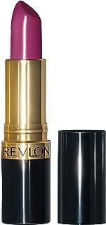 Revlon Super Lustrous Lipstick with Vitamin E and Avocado Oil, Cream Lipstick in Purple, 771 Berry Crush, 0.15 oz