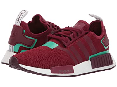 adidas Originals NMD_R1 W (Collegiate Burgundy/Collegiate Burgundy/Hi-Res Green S18) Women