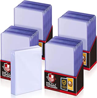 100 ct Toploaders Trading Card Sleeves Set, Top Loader Penny Sleeves fit for Pokemon Card, Trading Card, MTG, Yugioh Card...
