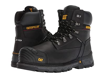 Caterpillar Excavator XL 6 Waterproof Composite Toe (Black) Men