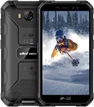 Điện thoại di động Android – 3G Rugged Smartphones Unlocked, Ulefone Armor X6 IP68 Waterproof Smartphones, Quad-core 16GB ROM Expansion 128GB Android 9.0 8MP+5MP Dual Camera 5.0″ HD Screen 4000mAh Battery, Face ID, GPS, Compass