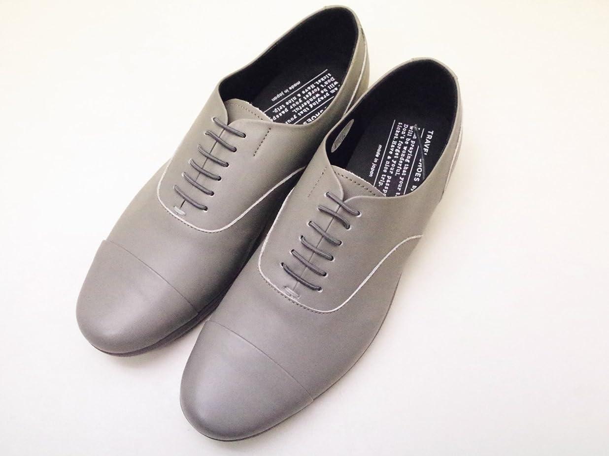 ワックス受け入れ走るトラベルシューズバイショセ TR-001 グレー GRAY レディース 靴
