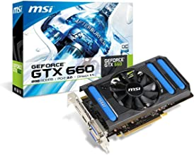 MSI NVIDIA GeForce GTX 660, 2GB GDDR5, PCI Express 3.0 Graphics Card N660-2GD5/OC